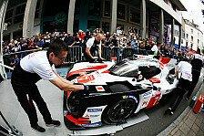 24h Le Mans 2019: Toyota mit LMP1-Bestzeit im Training
