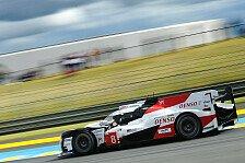 24h Le Mans 2019: Toyota-Pole nach zahlreichen Unterbrechungen