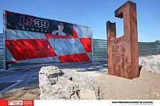 Die Gedenkstätte von Luis Salom in Bildern