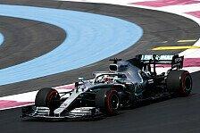 Formel 1 Frankreich: Mercedes dominiert 1. Training