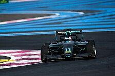 Formel 3 Frankreich: Jake Hughes entreißt Jehan Daruvala Pole
