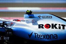 Formel 1: 1,97! Williams liefert schnellsten Stopp des Jahres