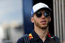 Formel 1, Gasly ohne Job-Angst: Ergebnisse nicht so wichtig