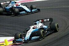 Formel 1, Haarige Nummer: Kubica schickt Russell in Schild