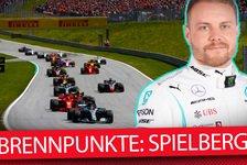 Formel 1 Österreich 2019: Die 5 heißesten Fragen vor Spielberg