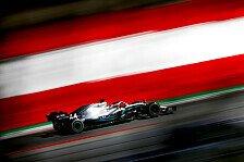 Formel 1, Spielberg-Stotterstart für Mercedes: Nicht prickelnd