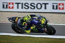MotoGP Assen: Valentino Rossi nach Trainings unzufrieden