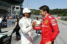 Formel 1, Hamilton: Haben Ferrari unterschätzt, Strafe verdient