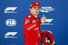 Formel 1, Leclerc nach Pole gierig: Soft-Strategie kein Problem