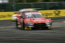 DTM Norisring, FP2: Audi-Doppelspitze, zwei Aston Martin fehlen