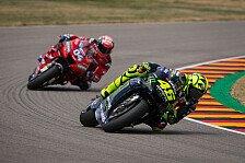 Valentino Rossi: Dovizioso ist für mich ein MotoGP-Champion