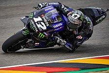 MotoGP Sachsenring 2019: Maverick Vinales im FP4 vorn