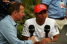 Formel 1 - Brundle: Hamilton muss Mercedes wachrütteln