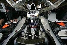 Formel 1 - Testing Time, Tag 4: Silberpfeile im Regen, einsame Ferrari-Piloten