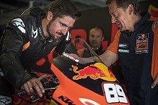 MotoGP: Marcel Hirschers KTM-Test