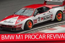 DTM - Video: BMW M1 PROCAR Revival am Norisring