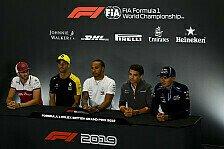 Formel 1 2019: Großbritannien GP - Donnerstag