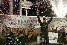 NASCAR Kentucky: Kurt Busch gewinnt Night Race in Overtime