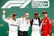 Formel 1 2019: Großbritannien GP - Podium