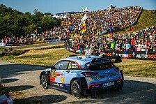 Zuschauerlenkung bei der ADAC Rallye Deutschland