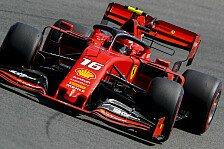 Formel 1 Hockenheim 2. Training: Leclerc verdrängt Vettel