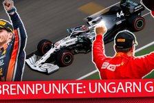 Formel 1 Ungarn 2019: Die heißesten Fragen vor dem Rennen