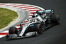 Formel 1 Ungarn: Hamilton im FP1 vor Verstappen und Vettel