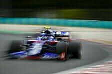 Formel 1, Albon crasht: Gras nicht gespürt, dummer Fehler