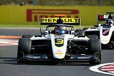 Formel 3 Ungarn: Lundgaard mit Start-Ziel-Sieg in Rennen 1