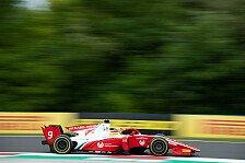 Formel 2 Ungarn: Latifi siegt, Schumacher holt Sprint-Pole