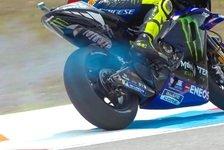 MotoGP - Valentino Rossi: Gefährliches Verhalten nach Defekt?