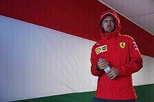 Formel 1, Vettel nach Training ernüchtert: Noch viel zu tun