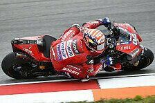 MotoGP Brünn 2019: Andrea Dovizioso im Warmup voran