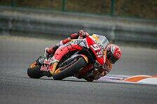 MotoGP Brünn 2019: Marquez auf nasser Strecke voran