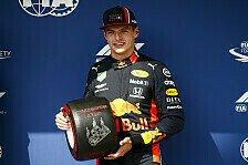 Formel 1, Verstappen haut erste Pole nicht um: Rennen wichtiger