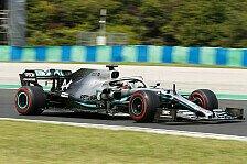 Hamilton hadert mit Ungarn-Qualifying: Auto wurde nicht besser