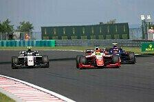 Formel 2, Formel 3 Ungarn 2019: News-Ticker vom Hungaroring