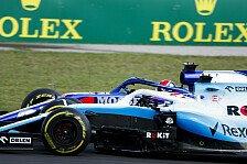 Formel 1, Williams peilt nach 'bestem Wochenende' Mittelfeld an