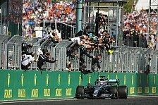 Formel 1 Ungarn - Presse: Hamilton erlegt Rebell Verstappen