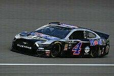 NASCAR Michigan: Kevin Harvick gewinnt umkämpften Sprit-Poker