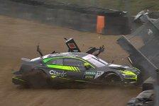 DTM - Video: DTM-Unfall: Video zu Fittipaldis Quali-Crash in Brands Hatch