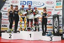 Dominik Blersch gewinnt ersten Lauf in Most