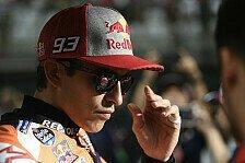 MotoGP Aragon - Marc Marquez: Habe Austin-Sturz im Kopf