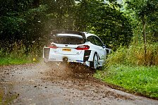 Valtteri Bottas: Rallye-Test im Ford Fiesta WRC