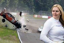Nürburgring-Unfall: Rennfahrerin überschlägt sich sechs Mal