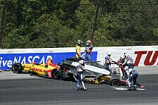 Massencrash beim IndyCar-Start in Pocono