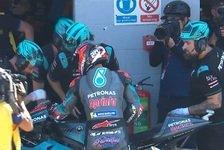MotoGP: Quartararo in Silverstone-Q2 von Technik gestoppt