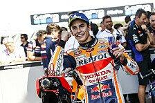 MotoGP Thailand: Marquez übersteht schlimmen Unfall unbeschadet