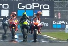 MotoGP Silverstone - Rossi: Musste Drecksarbeit machen