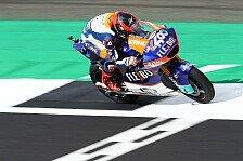 Moto2 Silverstone: Fernandez gewinnt Vierkampf, Marquez stürzt